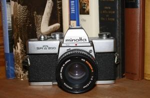 First camera.